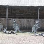 sculptures - Rockford winery Barossa Valley