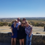 Camille,Brook,Nat ,Kira & Micheal Barossa valley lookout 31st mar 2018