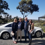 Clare Valley at JIm Barry wines Jenni & Simon with Chris & Nikie   Day 2 of Tour
