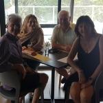 Teachers reunion Julie & Brenton with Kat & Shane 10th Feb 2018 Petaluma MV